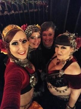 Com Terri, Nijme e Becka (EUA 2017)